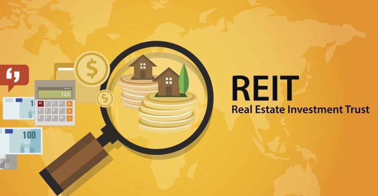 REITs provide passive income