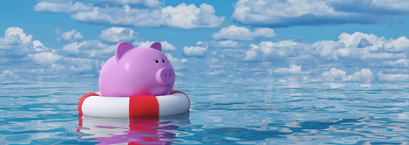 build your emergency to stay afloat during a recession
