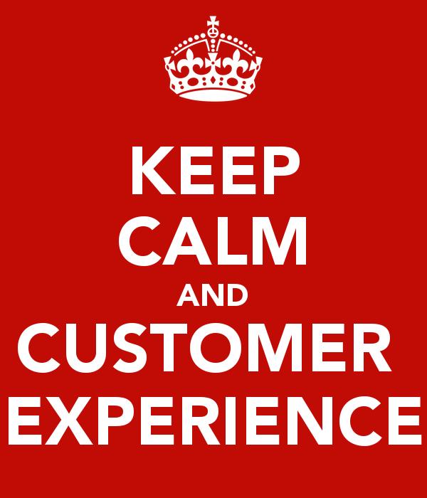 Keep calm when a client is upset