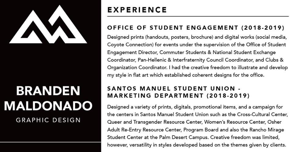 Maldonado Graphic Design Experience