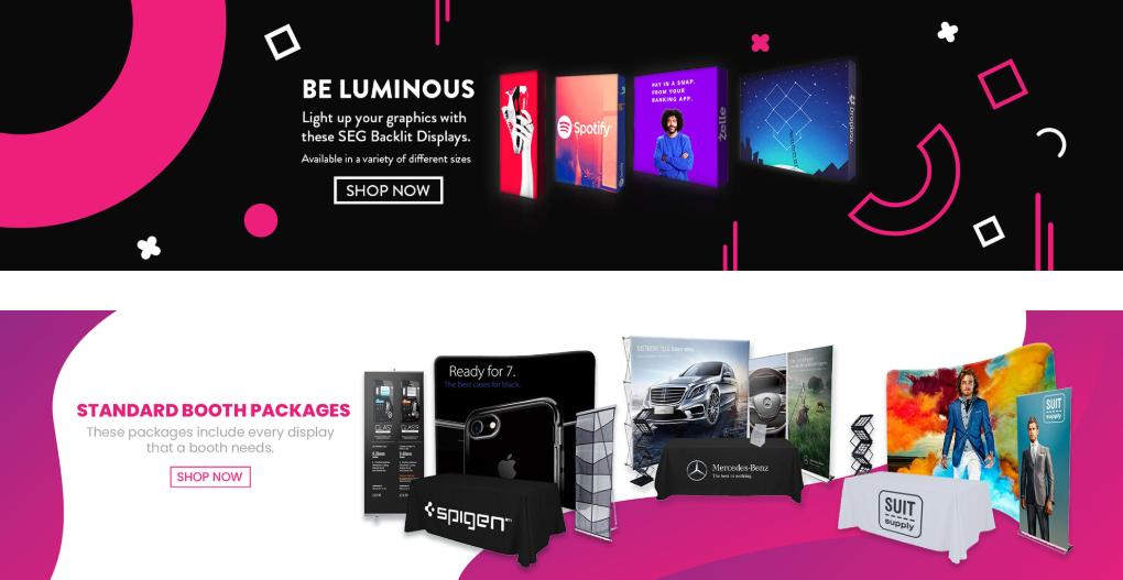 Maldonado Graphic Design Web Banners