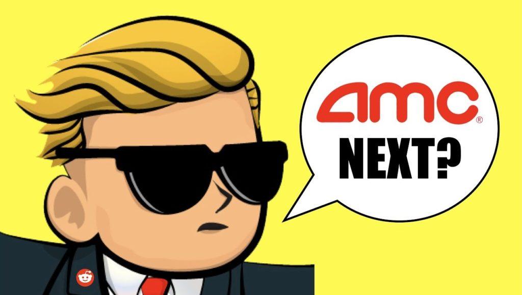 AMC stock price wallstreetbets