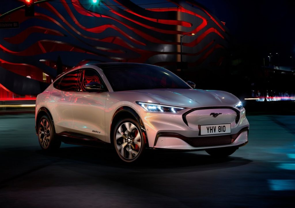 Ford Motor Company Mach E Tesla Competitor
