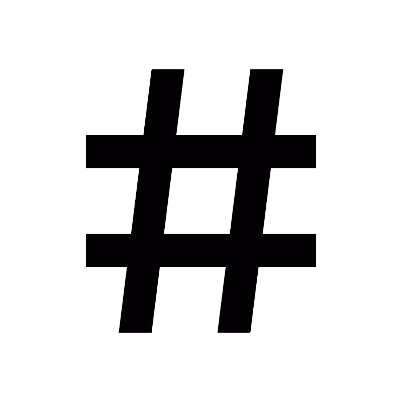 use hashtags to optimize growth