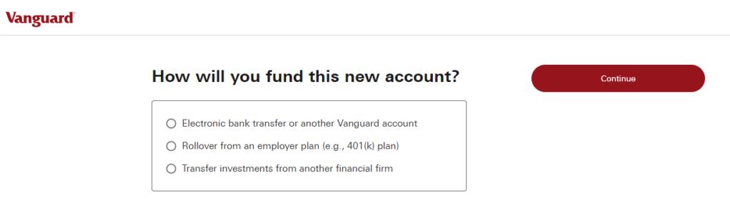 Vanguard Account