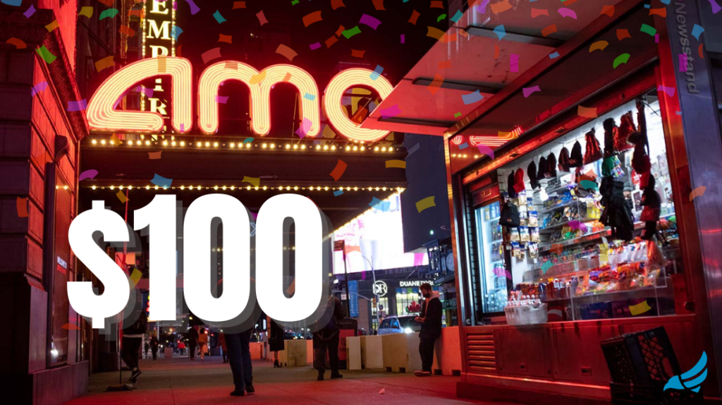 AMC stock to $100 per share soon