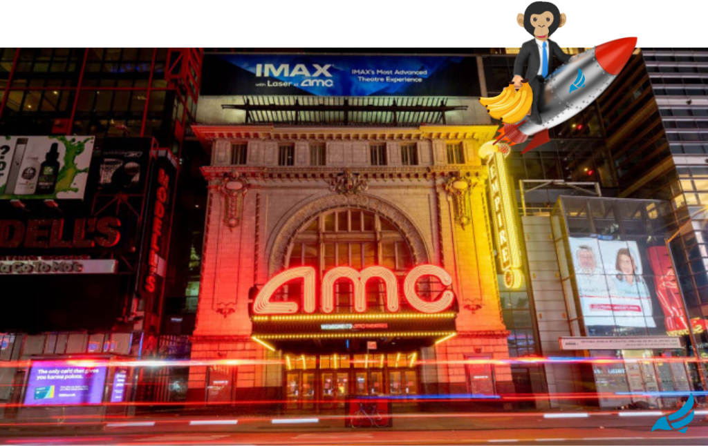 AMC stock is up without a short squeeze