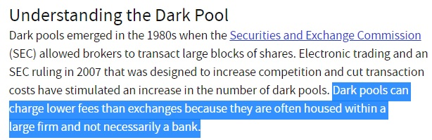 dark pools Investopedia