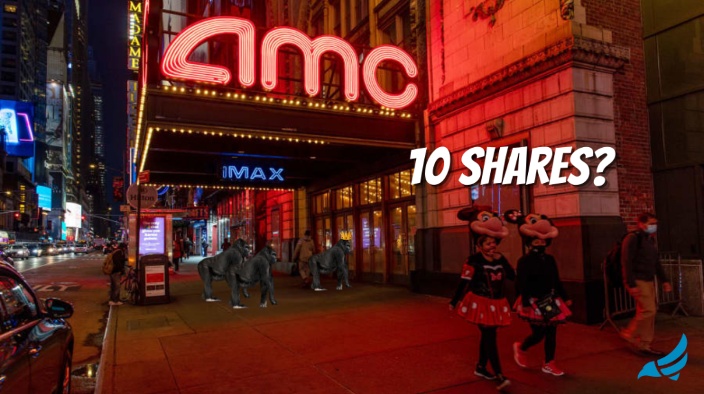 Is it worth buying 10 shares of AMC stock right now?