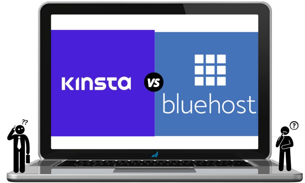 Kinsta versus Bluehost