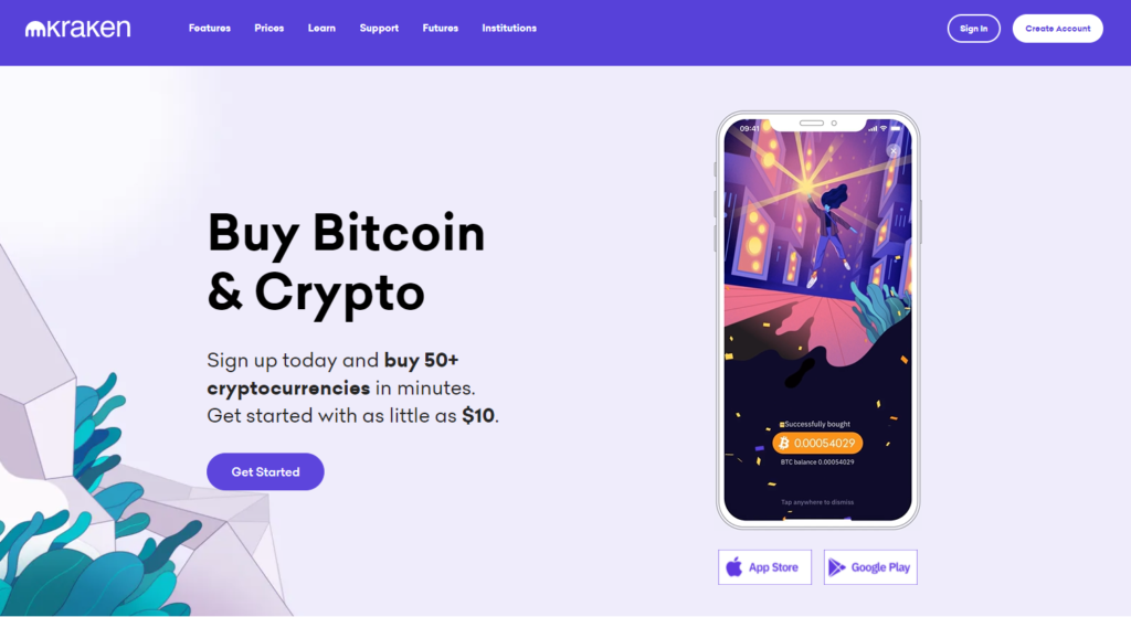 Buy Bitcoin and Crypto with Kraken
