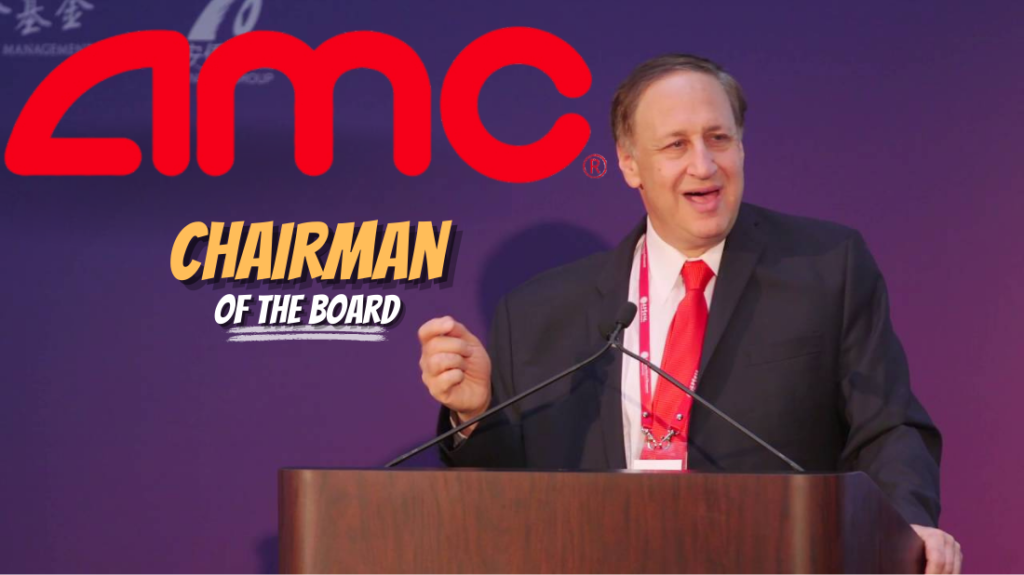 AMC CEO Adam Aron becomes chairman of the board