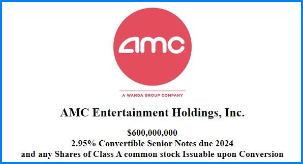 AMC Entertainment convertible bonds