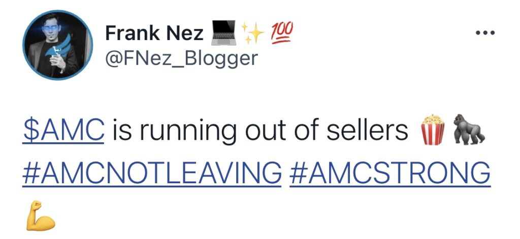 AMC is running out of sellers