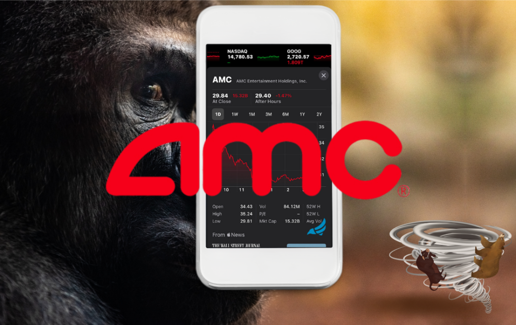 AMC Stock is Apeish