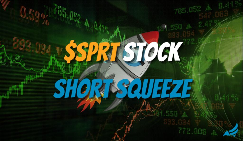 SPRT Stock Short Squeeze