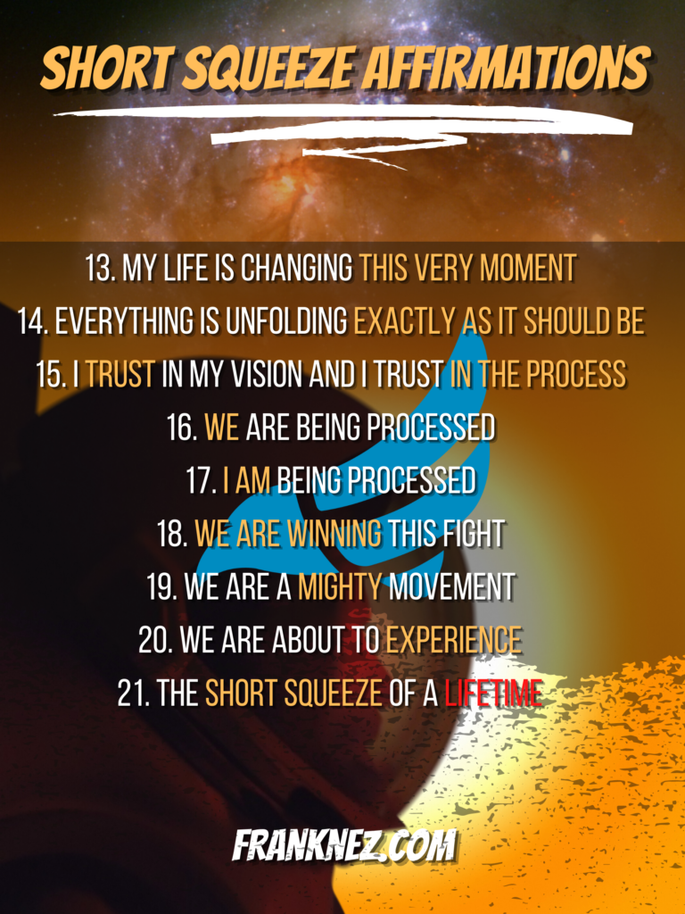Short Squeeze Affirmations