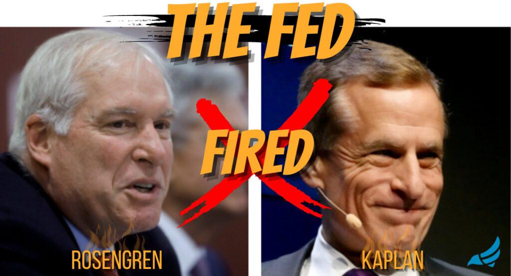 Kaplan and Rosengren resign from FED