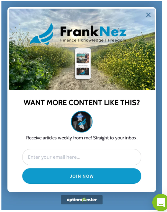 promote brand with newsletter