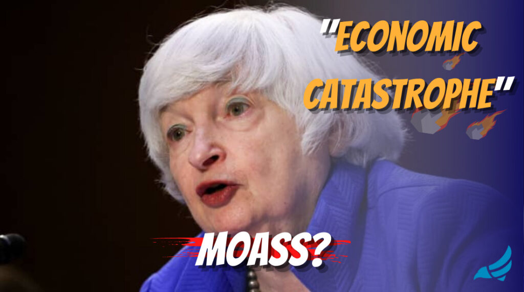 """Yellen """"America Could Default For The First Time In History"""""""