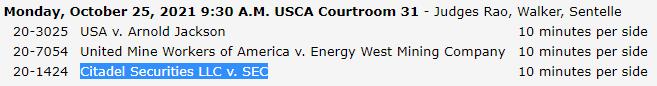 Citadel securities vs sec court - Citadel sues SEC